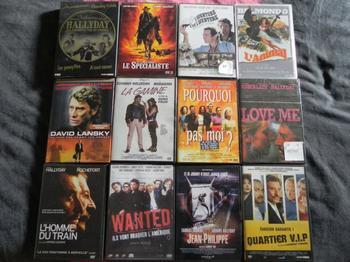 Les films que je possède en dvd de Johnny
