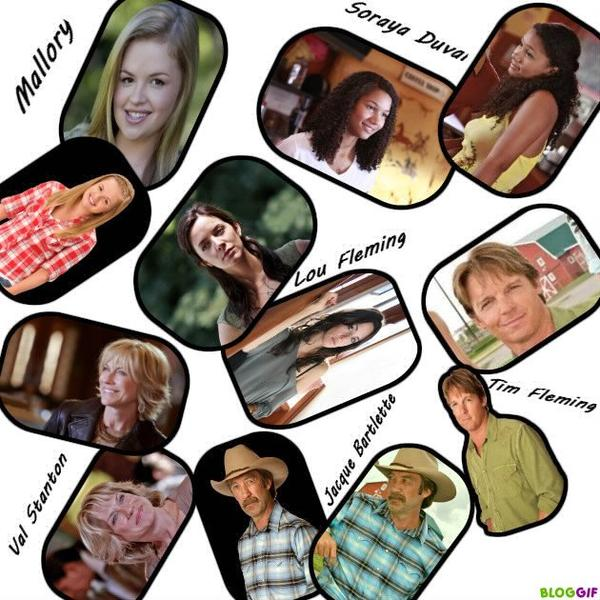 Les Personnage Heartland