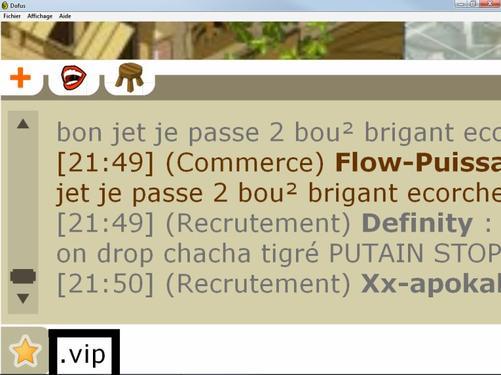 Ou bien xp pour les VIP ?