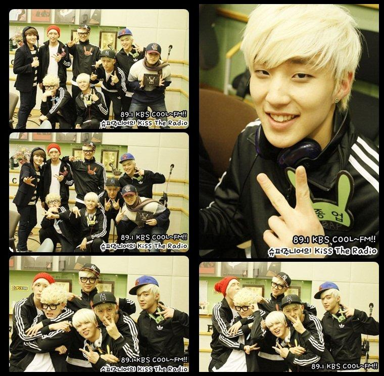 Les B.A.P à Kiss the radio.