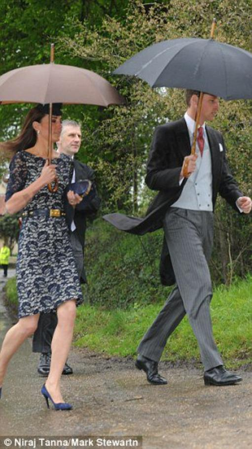 Kate le 28 avril à un mariage