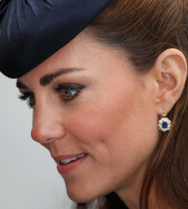 Kate et la Reine lors de la tournée de son Jubilé de diamant