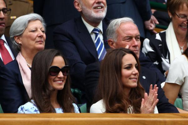 Kate et Pippa à Wimbledon