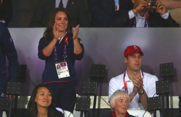 Kate et William une nouvelle fois à fond aux JO!!