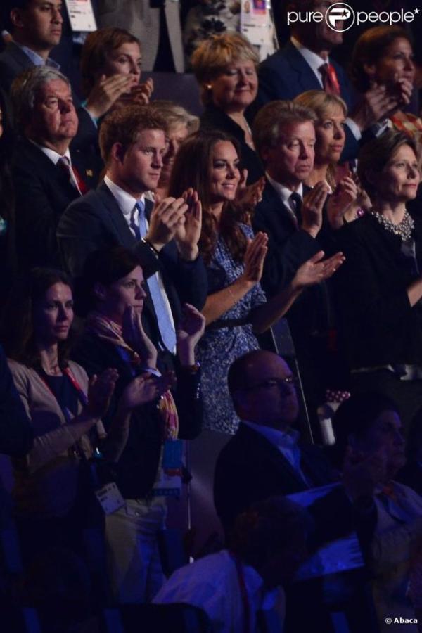 Kate lors de la cérémonie de clôture des JO