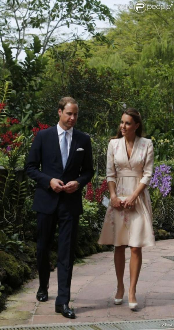 Kate et William à Singapour