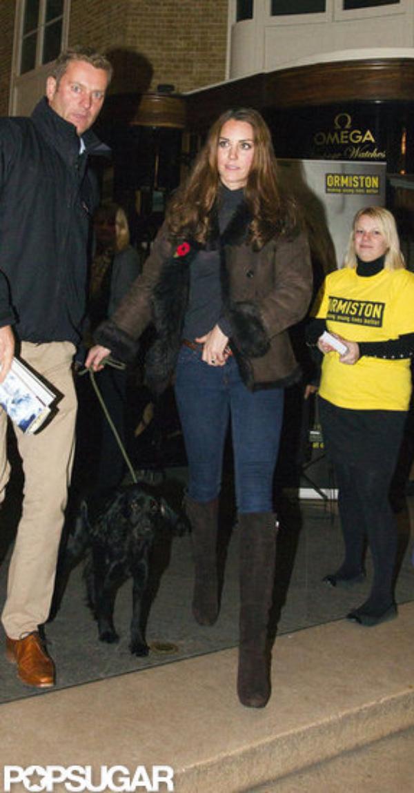 Kate à un évènement de charité avec Pippa et Lupo