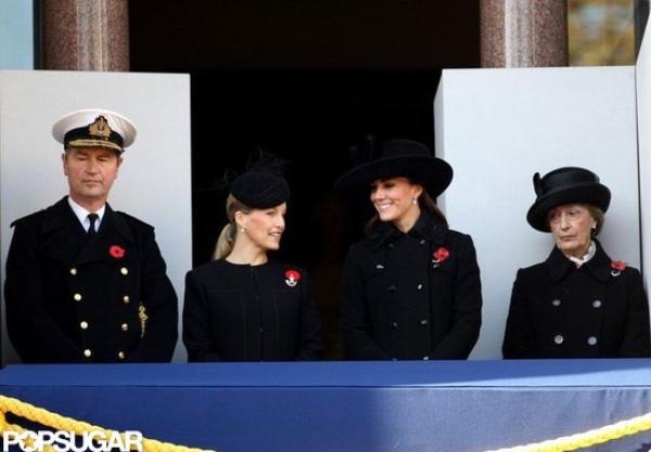 Kate pour pour le Dimanche du Souvenir 2012
