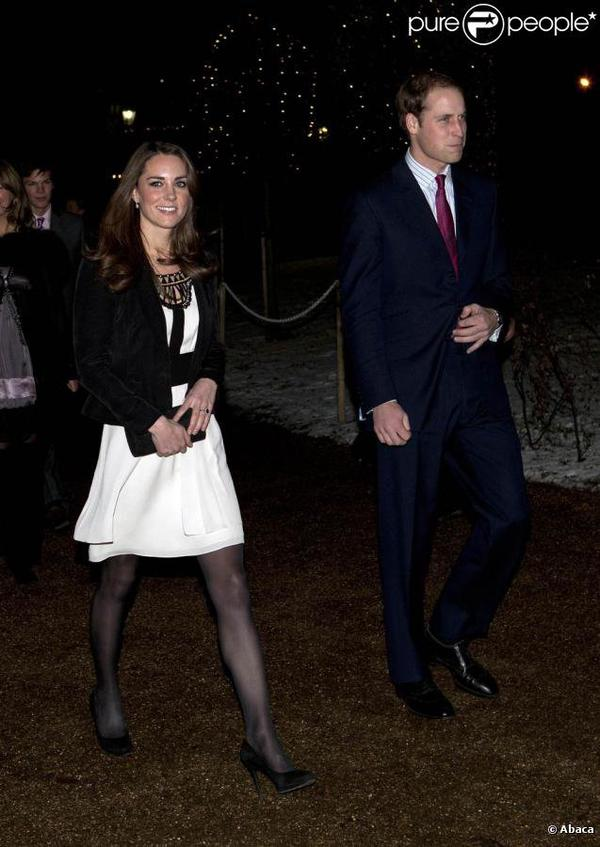 "FLASHBACK ""Kate et William à un gala de charité"""