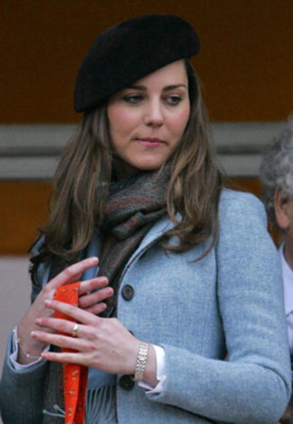 """FLASHBACK """"Kate lors d'une course de chevaux en 2007"""""""
