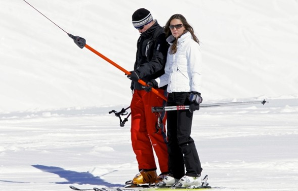 "FLASHBACK ""Kate en vacances au ski avec William"""