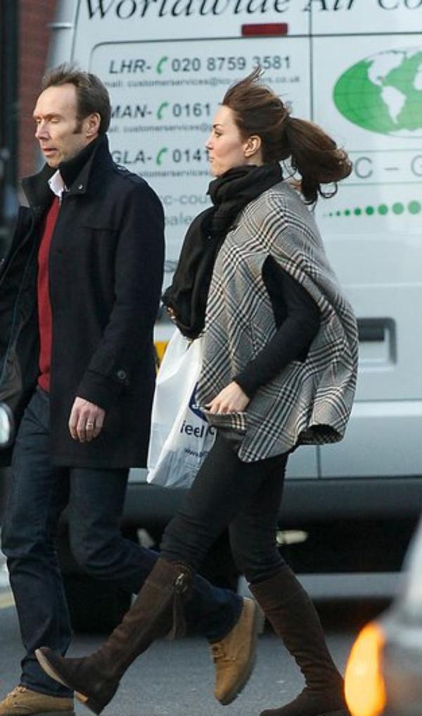 Kate en sortie shopping