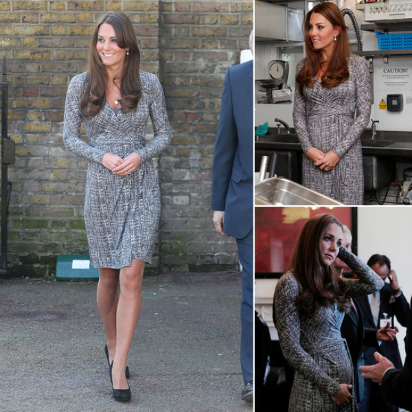 Kate : première sortie officielle du baby bump