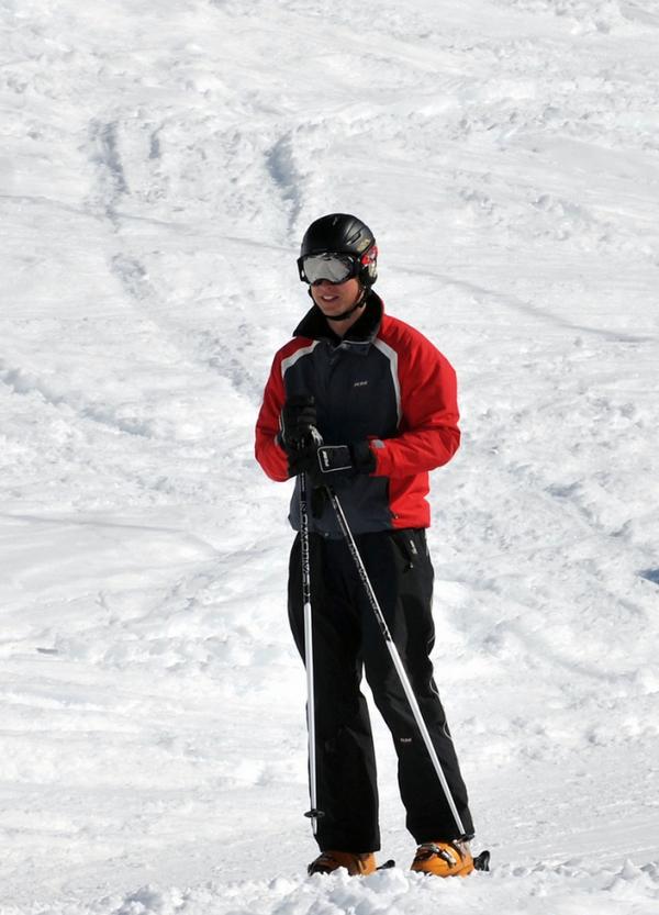Kate en Suisse