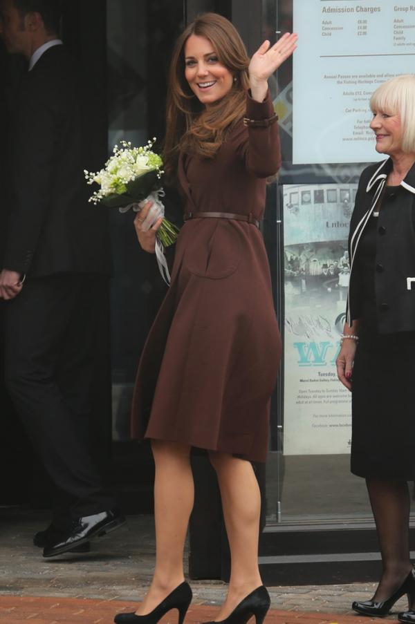 Kate au Musée à Grimsby