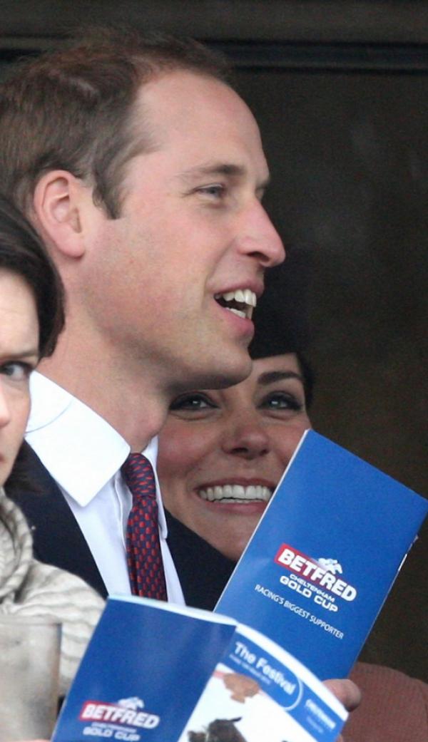 Kate et William au festival de Cheltenham