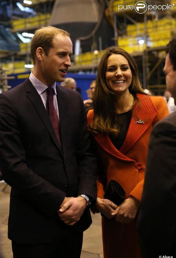 Kate avec William et Charles pour l'inauguration d'un centre