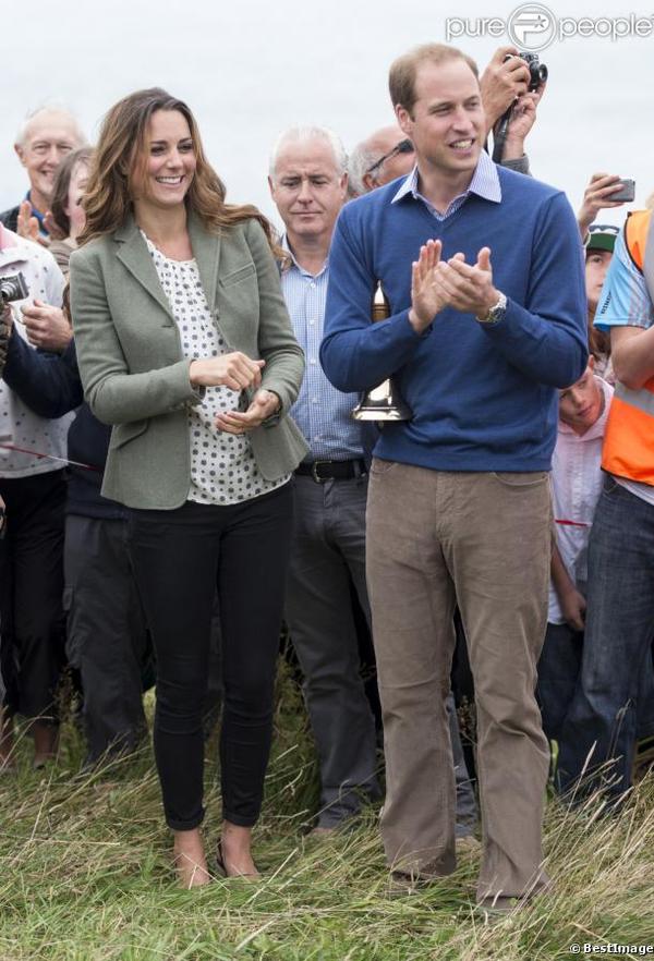 Kate : 1ère apparition publique depuis la naissance de George