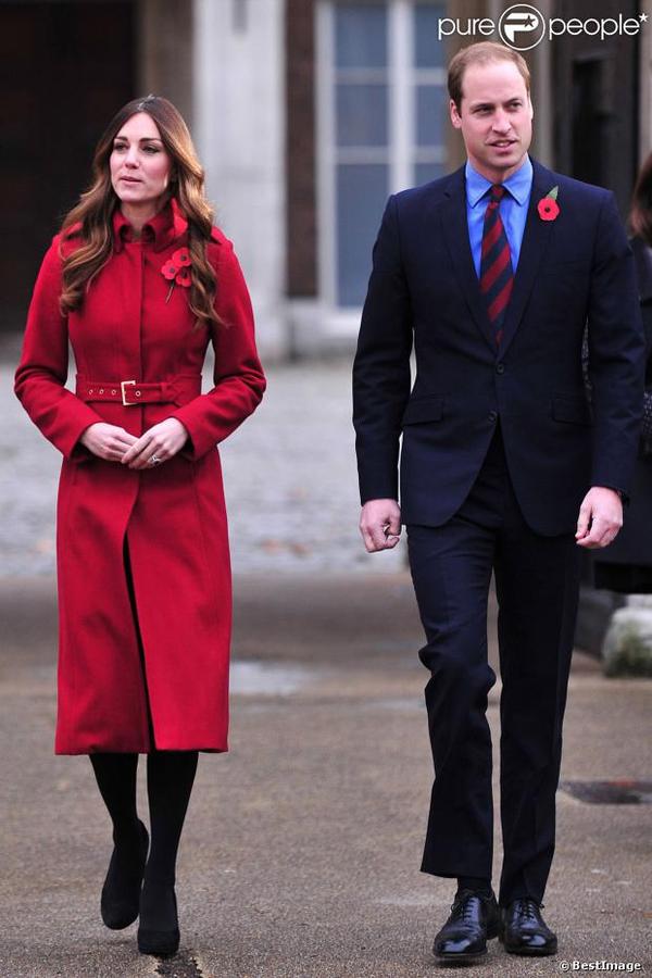 Kate et William pour une sortie à Londres