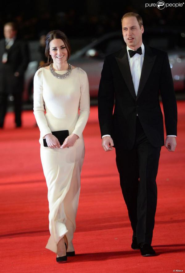Kate et William : Avant première film sur Nelson Mandela