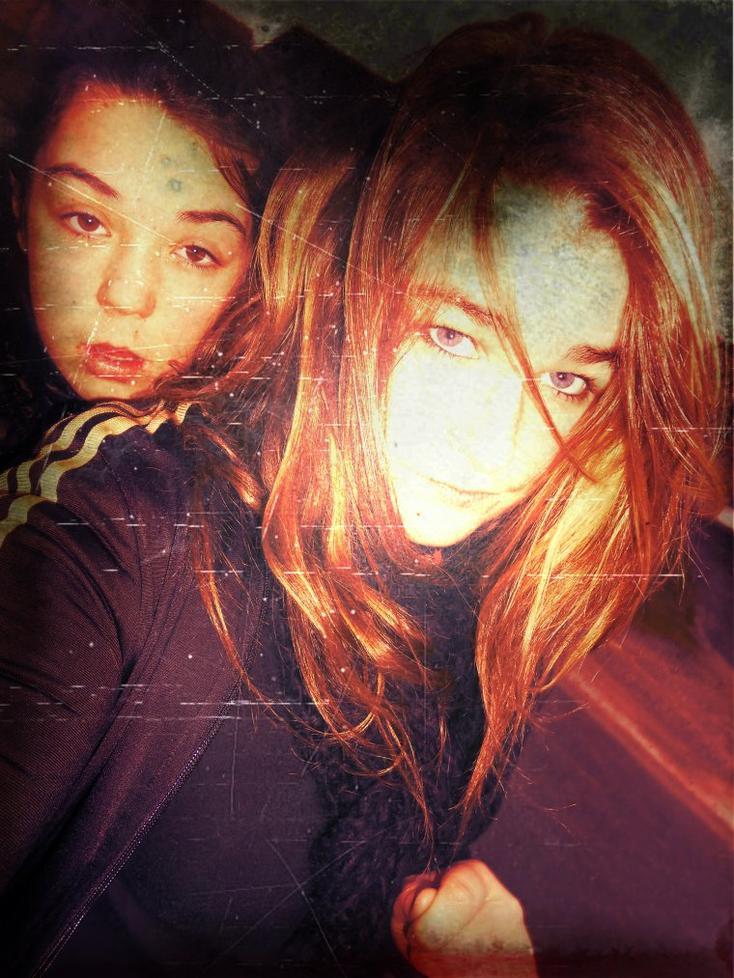 Laura & Sherley </3