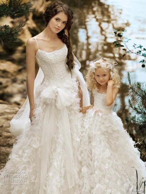 Winter Wedding Dresses 2013 | Romantic Wedding Dress | Dresses With Color | Dresses With Long Trains | Wedding Dresses With Fur |