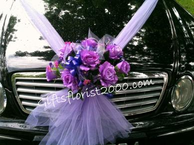 Wedding Car Flowers | Wedding Decoration For CAR | Car Hire for Wedding | Wedding Car Design |