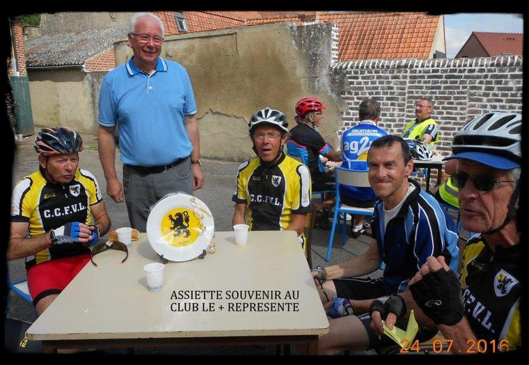 BREVET CYCLO D'ARNEKE  - 24/07/16 (suite photos)