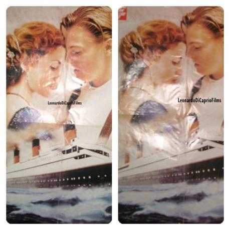 """Mon Poster """"Titanic 1998"""" + L'Anniversaire du Naufrage il y'a un siècle ... (: ♥"""