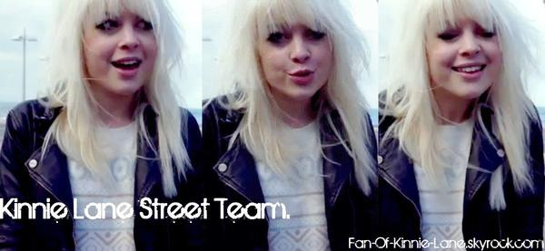 Les Street Teams Kinnie Lane