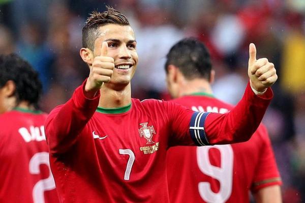 Biographie de Cristiano Ronaldo. ♥