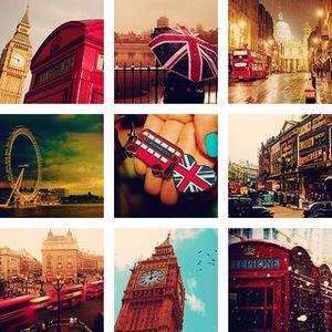 Planche d'icones : Thème Londres