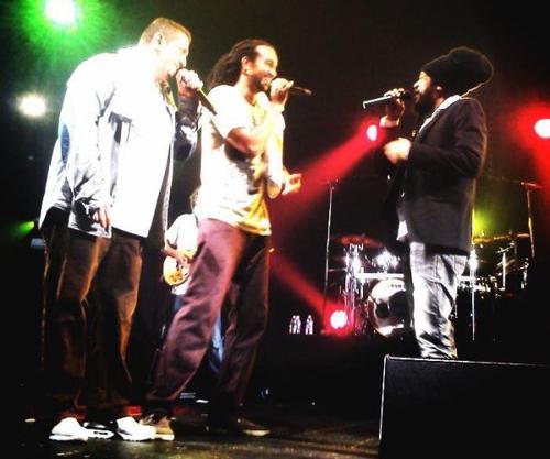 21/12/2013 Concert Dub Inc;Yaniss Odua; Skarra Mucci & le Ziggy Yours au Zenith de Saint Etienne !