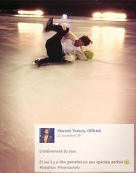 Novembre 2013 : Quelques photos de Florent qui participe à Ice Show