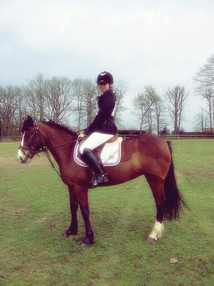 L'équitation est le seul sport individuel qui se pratique à deux ❤