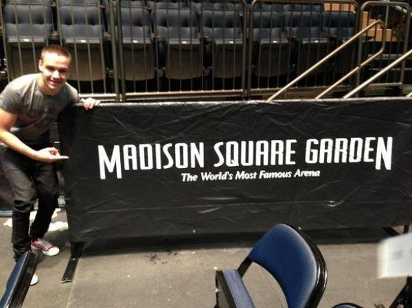 Les One Direction on fait un concert exeptionnel au Madison Square Garden le 03/12/12 !!!