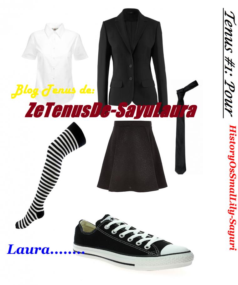 Tenue #1: Pour HistoryOfSmalLily-Sayuri.