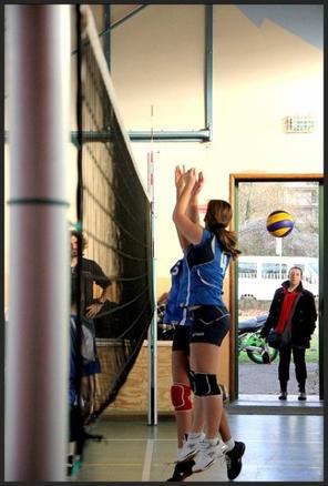 Le volley, bien plus qu'un sport : une passion.  7 ans <3