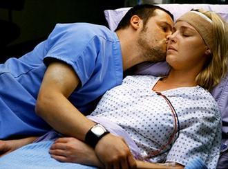 Izzie et Alex, la peur.