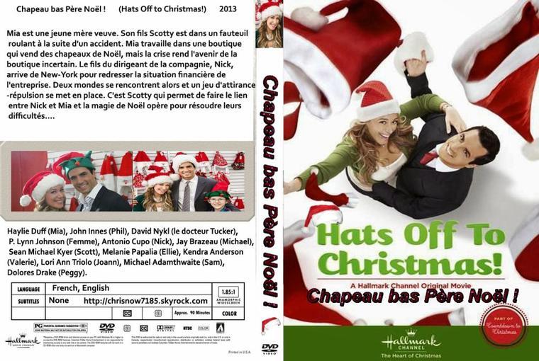CHAPEAU BAS PERE NOËL / Hats Off to Christmas! 2013
