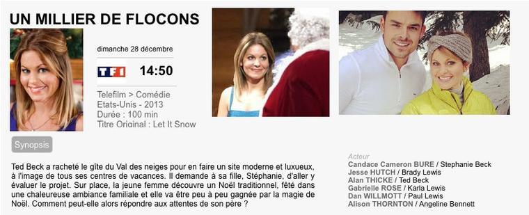 UN MILLIER DE FLOCONS / Let it snow   2013