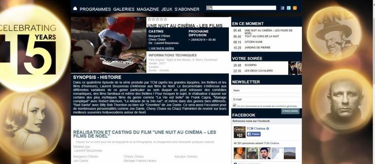 Une nuit au cinéma doc :les films de Noël (2011)
