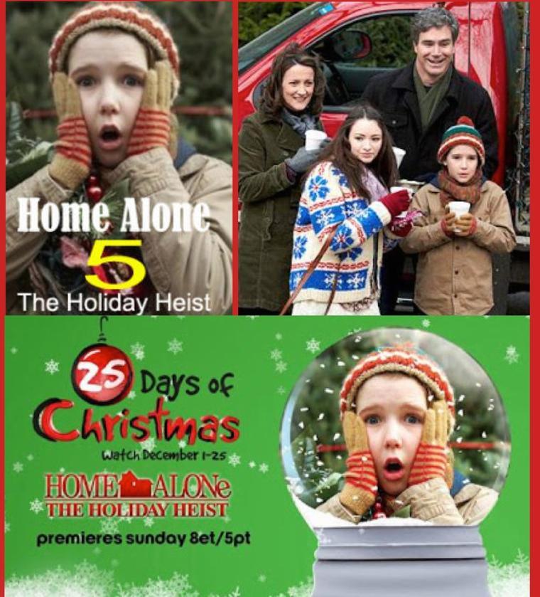 Maman ,la maison est hantéeHome Alone (5): The Holiday Heist 2012