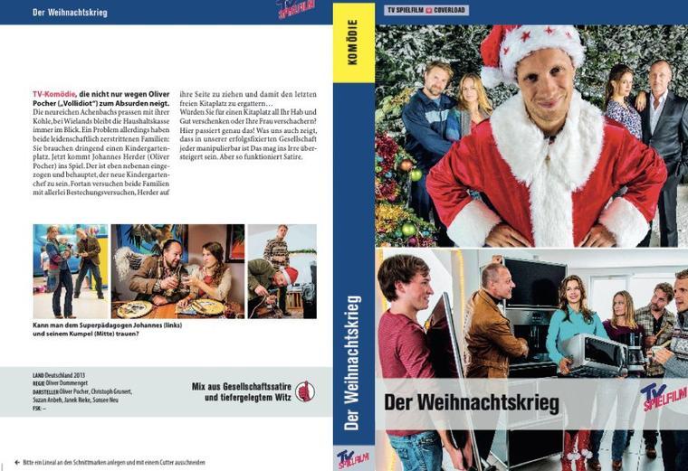 Bataille à la crèche  /Der Weihnachtskrieg 2013