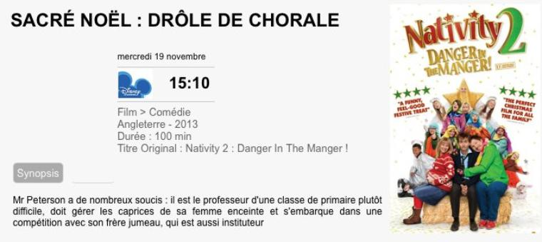 Sacré Noël : Drôle de chorale / Nativity 2: Danger in the Manger 2012
