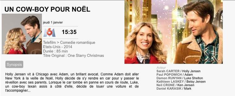 UN COWBOY POUR NOËL / One starry christmas 2014