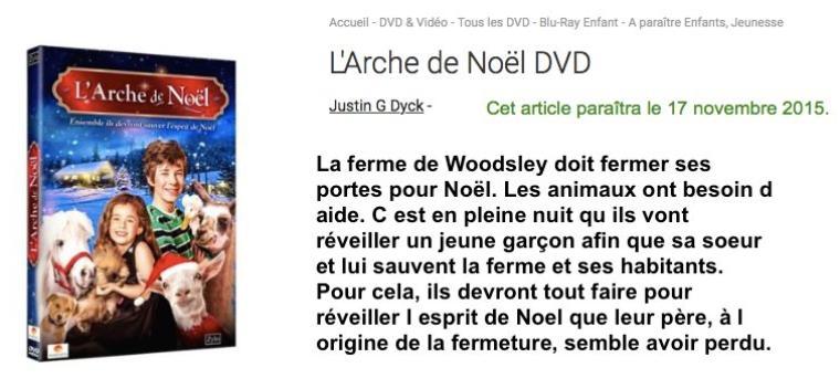 L'arche de Noël / My Dad is Scrooge 2015