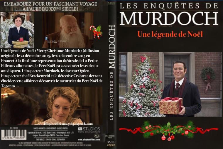 les enquêtes de Murdoch: Une  légende de Noël 2015