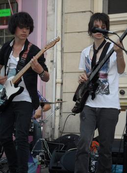 Concert effectué par BTU