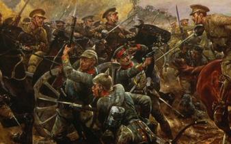 Peintures de la bataille d'Audregnies